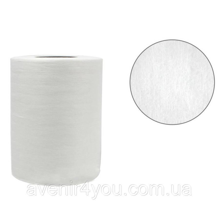 Салфетки одноразовые 30х20см (100 шт) Гладкие В рулоне Белые