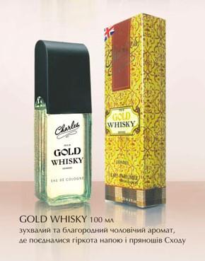 Одеколон Чарльз Gold Whisky 100 мл
