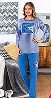 Женская теплая пижама  Ангора