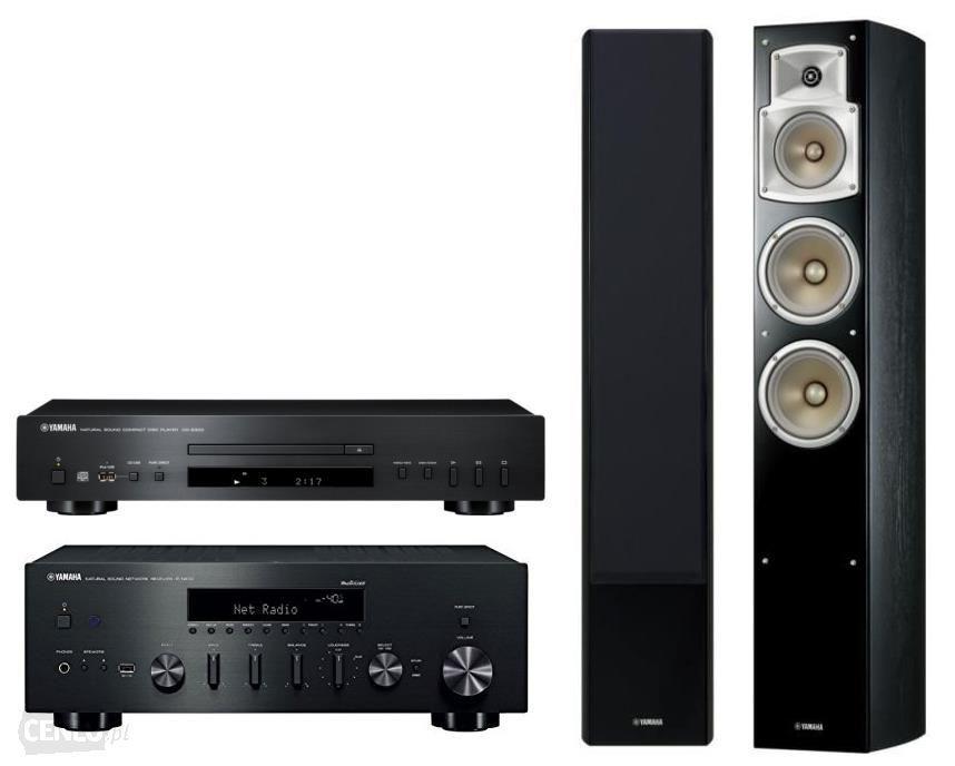 YAMAHA R-N602 + CD-S300 + NS-F350