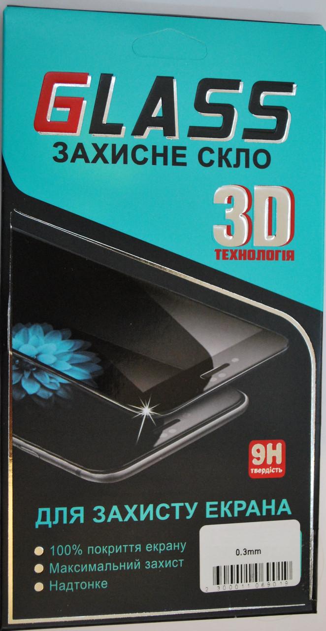 Защитное 3D стекло для IPhone X черное, F2199.1