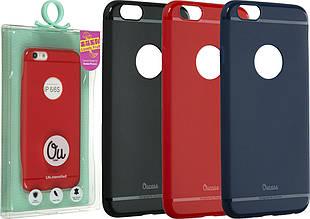 "Накладка силиконовая Ou case ""Super slim lovely""  для iPhone 5"