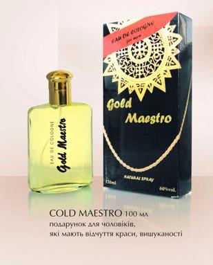 Одеколон чоловічий  Gold Maestro     100 мл