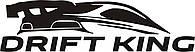 Наклейка на автомобиль - DRIFT KING черная