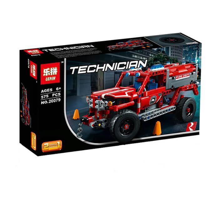 """Конструктор Lepin 20079 (реплика Lego Technic 42075 ) """"Служба быстрого реагирования"""" 575 дет"""
