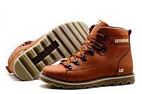 Мужские зимние кожаные ботинки CAT Expensive Fox