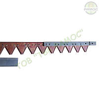 Нож (коса) жатки 5 м с элементом на заклепках Claas, артикул 611214