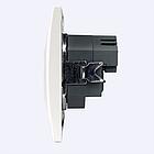 Розетка USB двойная + розетка с/з (NEW!!!) EH-5321, фото 4