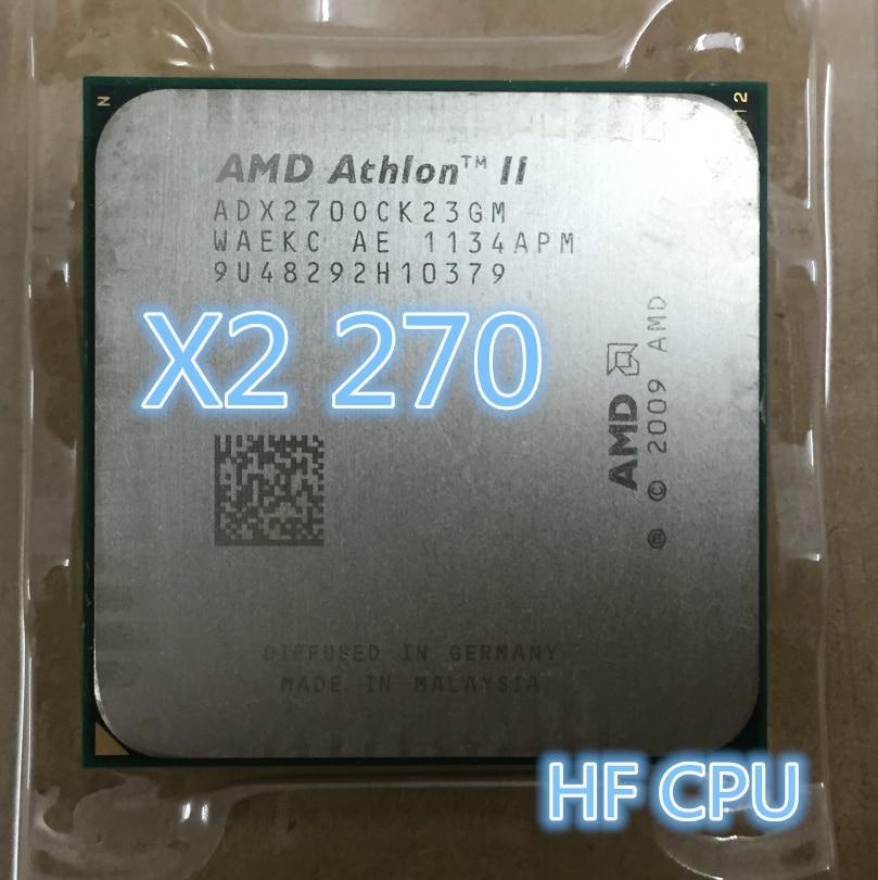 ТОПОВЫЙ Процессор AMD sam3 ATHLON II 270 - 2 ЯДРА  ( 2 по 3.4 Ghz каждое ) ADX270OCK23GM am2+  am3