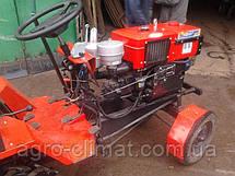 """Адаптер-мототрактор ТМ """"Ярило"""" (для мотоблоков водяного охлаждения, приводные ремни внизу, + колеса), фото 3"""