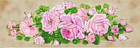 """Схема для вышивки бисером """"Гирлянда из роз"""""""