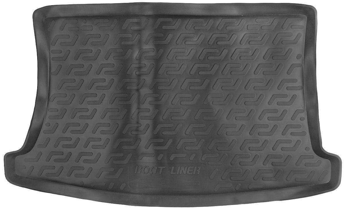 Коврик в багажник для Kia Rio III HB (11-) серый duo 103010702
