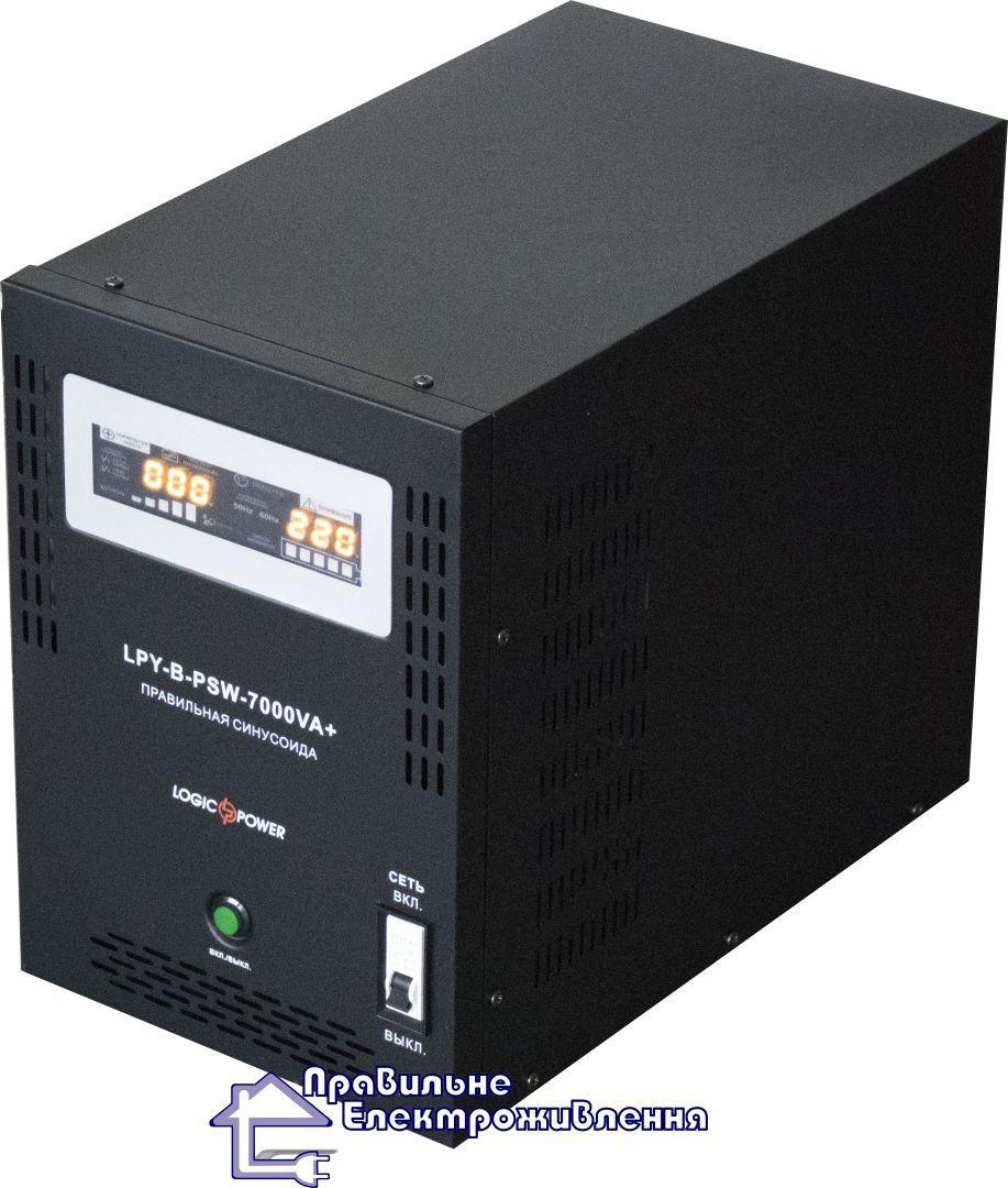 Джерело безперебійного живлення LogicPower LPY-B-PSW-7000VA+ (5000 Вт)