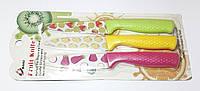 Набор Металло - Керамических Универсальных Ножей 3 шт. Fruit Knife, фото 1