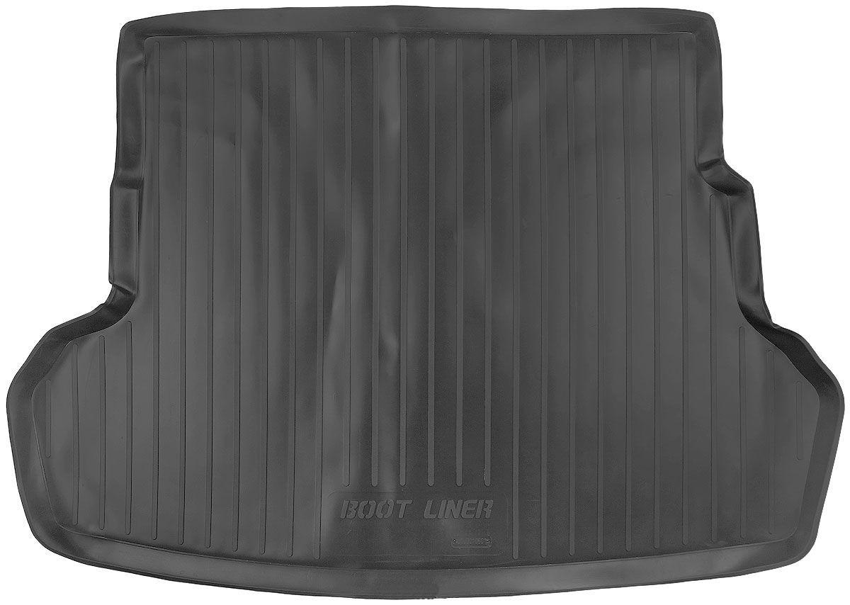 Коврик в багажник для Kia Rio III SD (11-) серый duo 103010602