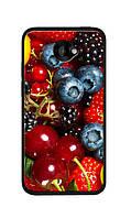 Чехол для HTC Desire 601 (лесные ягоды)