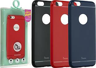 "Накладка силиконовая Ou case ""Super slim lovely""  для iPhone 6 plus"