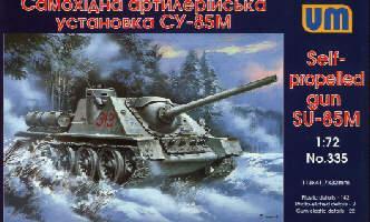 Самоходная артиллерийская установка СУ-85М. 1/72 UM 335