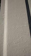 Декор фасада с отделкой под травертин 2