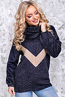 2841-2845/7 Женский теплый свитер