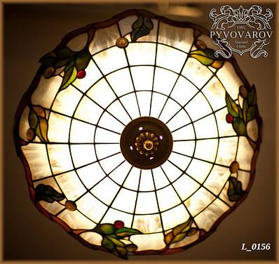Люстра Тиффани из цветного стекла