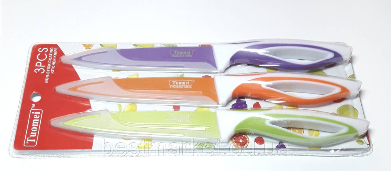 Набор Металлических Универсальных Ножей 3 шт Tuomei