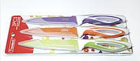 Набор Металлических Универсальных Ножей 3 шт Tuomei, фото 1