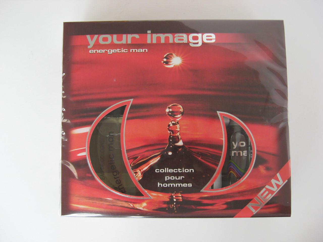 Парфумерний набір - for men - Energetic (Your image) туалетна вода 100мл + рідкий антиперспірант