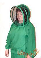 Куртка пчеловода габардин с маской «Евро»