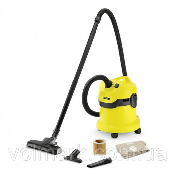 Karcher WD 2 HOME Пылесос для сухой и влажной уборки (1.629-773.0)