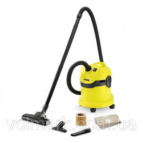 Karcher WD 2 HOME Пылесос для сухой и влажной уборки (1.629-773.0), фото 2