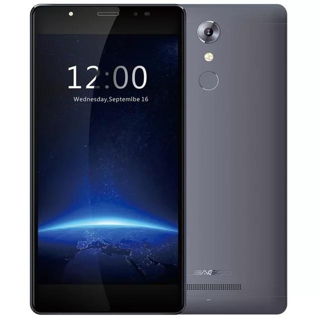 Смартфон Leagoo T1 Gray 2/16Gb + чехол