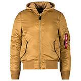 Мужская куртка демисезонная MA1 NATUS Alpha Industries, фото 5