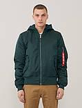 Мужская куртка демисезонная MA1 NATUS Alpha Industries, фото 6