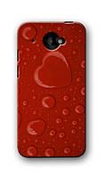 Чехол для HTC Desire 601 (капли)
