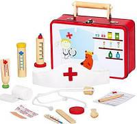 Набор доктора в железном чемоданчике Bino 83529