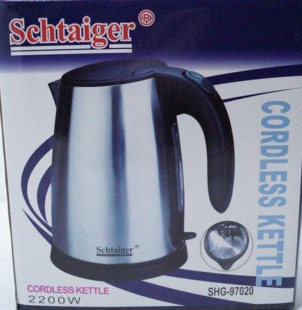 Дисковый электро чайник Schtaiger SHG-97020