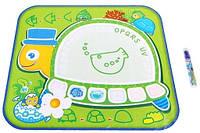 Коврик для рисования водой Черепаха Bino 88603 (77х63х1 см)