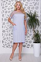 """Donna-M Платье """"Лика"""" (св. лавандовый) 2000000046358, фото 1"""