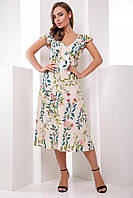 Donna-M Платье 1788 бежевый , фото 1