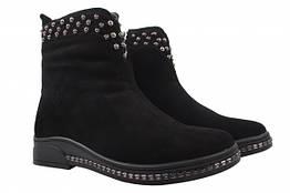 Ботинки Reuchll натуральная замша, цвет черный