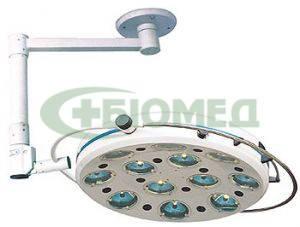 Светильник хирургический L7412-II- двенадцатирефлекторный потолочный