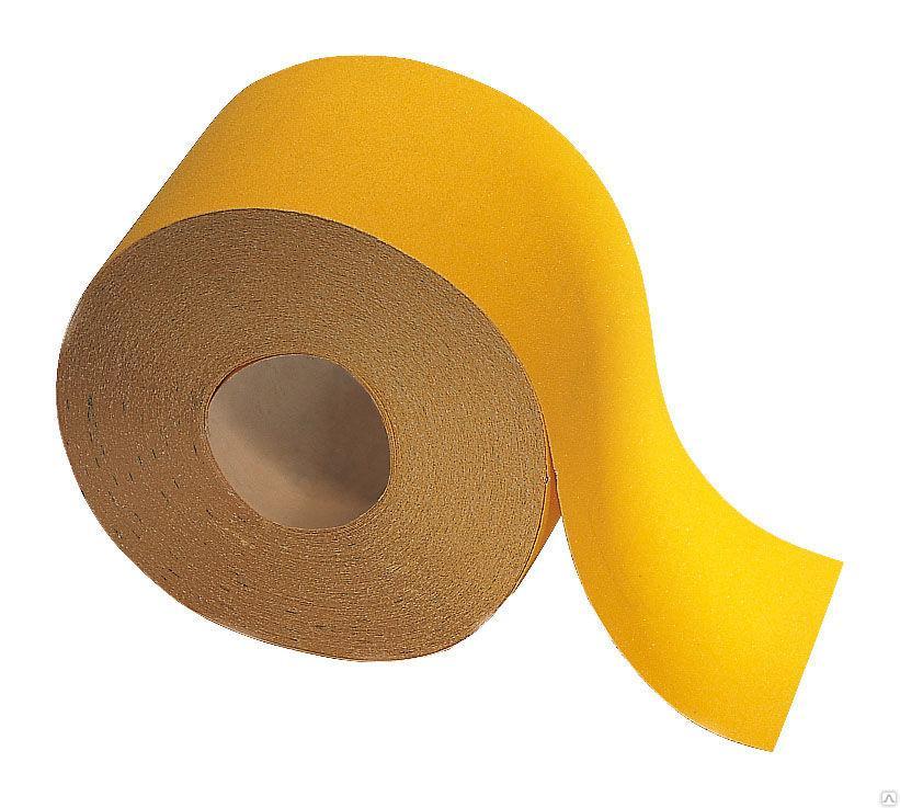 Бумага наждачная на бумажной основе 80 115ммх50м