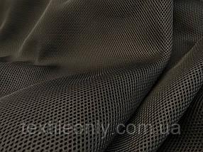 Сетка сумочно-обувная на поролоне артекс (airtex) люкс цвет черный 190 г/м2