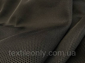 Сітка сумочно-взуттєва на поролоні артекс (airtex) люкс колір чорний 190 г/м2