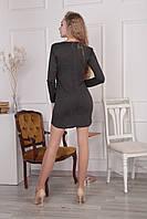 """Платье женское """"Роуз""""  Распродажа  Распродажа графит, 46"""