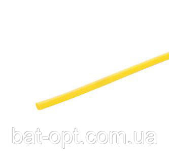Термоусадочная трубка VARGO 4мм желтая