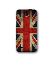 Чехол для HTC Desire 300 (Британский флаг)