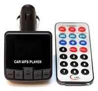 FM модулятор 853 с USB SD AUX пультом, фото 1
