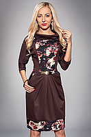 Платье с розами большой размер, фото 2